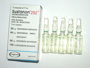 Sustanon 250 - Testosteron Mix 4